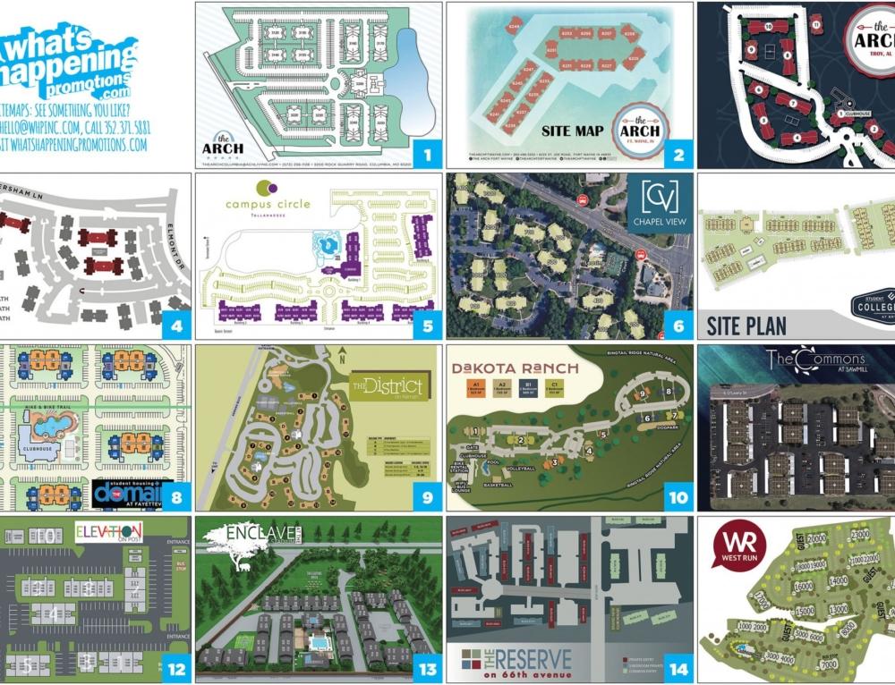 Site Plans!